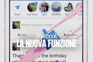 Facebook, se scrivi queste parole parte una simpatica animazione: la novità