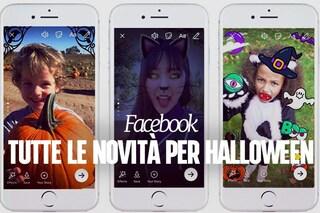 Facebook si prepara a festeggiare Halloween con tante novità