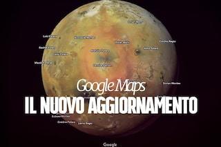 Google Maps si aggiorna: da oggi puoi esplorare nuovi pianeti e lune