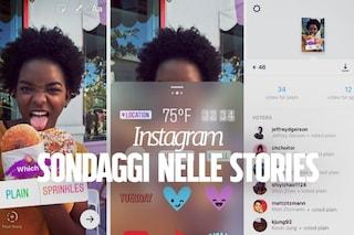 Instagram si aggiorna ed introduce i sondaggi nelle Stories: ecco come funziona la novità