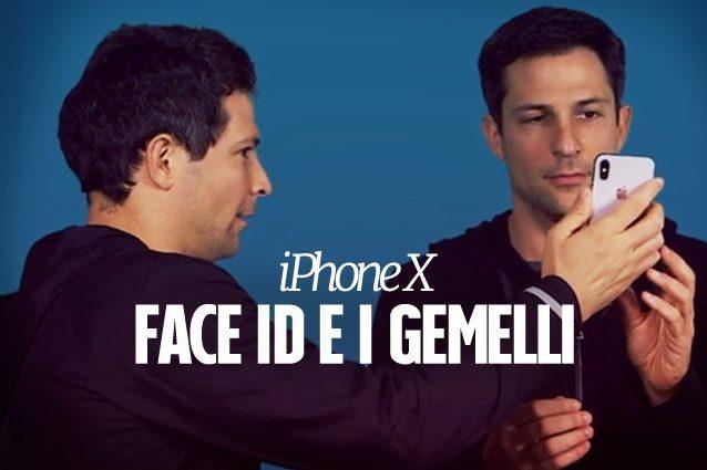 iPhone X, ecco come funziona Face ID con i gemelli: i risultati dei test