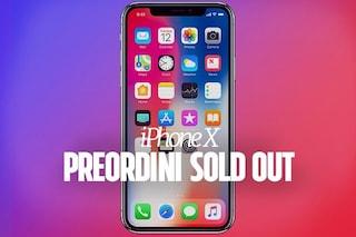Apple, iPhone X: preordini sold out in pochi minuti
