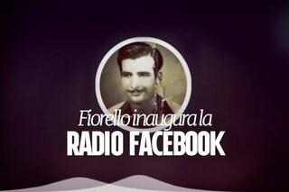 La radio in diretta su Facebook arriva in Italia: Fiorello condurrà il primo programma