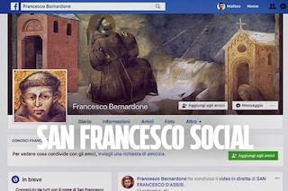 San Francesco ti chiede l'amicizia su Facebook (e non è un fake)