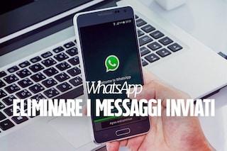 WhatsApp, da oggi è possibile eliminare un messaggio inviato per errore: ecco come fare