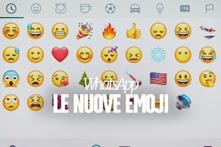 """WhatsApp aggiorna tutte le emoji: ecco come cambiano le """"faccine"""""""