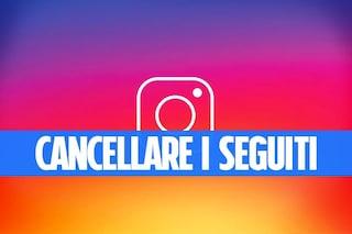 Come eliminare tutti i seguiti su Instagram contemporaneamente