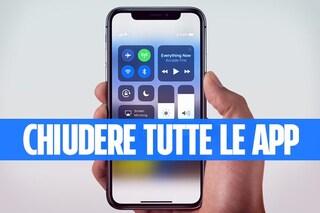 Guida iPhone X: chiudere le app aperte