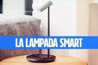 Olie, la lampada smart che integra l'Assistente Google o Alexa