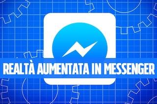 I nuovi filtri di Facebook Messenger che sfruttano la realtà aumentata (come Snapchat)