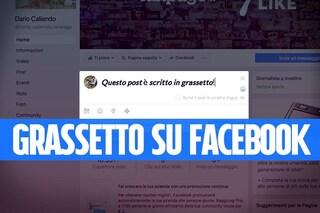 Come scrivere in grassetto su Facebook