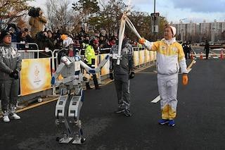 Il robot HUBO diventa tedoforo per i Giochi olimpici di PyeongChang