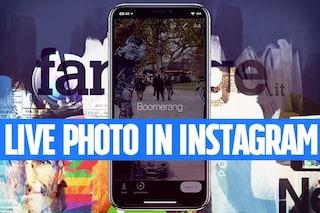 Trucchi Instagram: inserire le Live Foto animate di iPhone come GIF animata nelle Storie