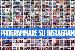 Programmare post su Instagram