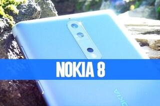 Recensione Nokia 8: caratteristiche tecniche e prezzo di vendita in Italia
