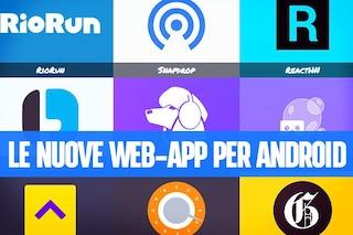 """PWA Web: """"convertire"""" i siti in applicazioni ottimizzate  e salvarle nella home di Android"""