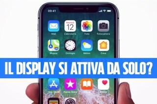 Il display di iPhone X si attiva da solo? Ecco come risolvere il problema