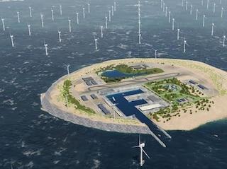 Un'isola eolica fornirà energia a cinque paesi europei