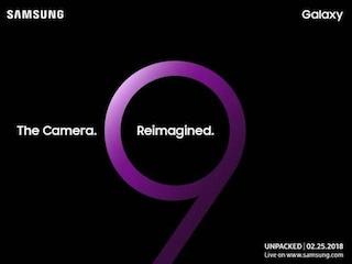 Samsung conferma la data di lancio del Galaxy S9 e punta tutto sulla fotocamera
