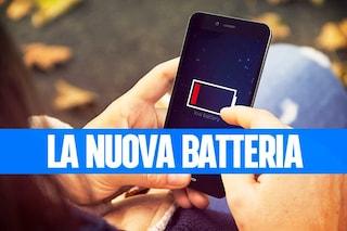 La nuova sorprendente batteria di Huawei: 50 percento di carica in 5 minuti