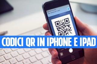Come effettuare scansione QR con iPhone e iPad senza installare alcuna app