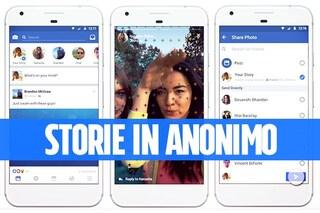Riprodurre le storie di Facebook in anonimo