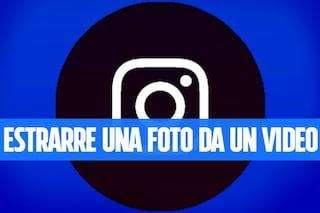 Trucchi Instagram: pubblicare una foto estratta da un video
