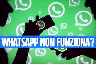 WhatsApp down: l'app di messaggistica non funziona