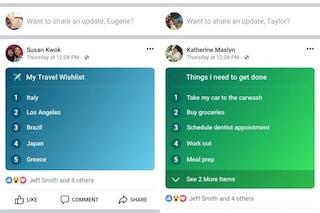 Facebook introduce le Liste: cosa sono e come funzionano