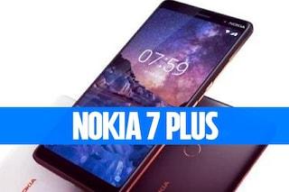 Nokia 7 Plus: 6 pollici, Android One, ottiche Zeiss e prezzo contenuto