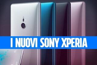 Con XZ2 e XZ2 Compact Sony rivoluziona (finalmente) i suoi smartphone