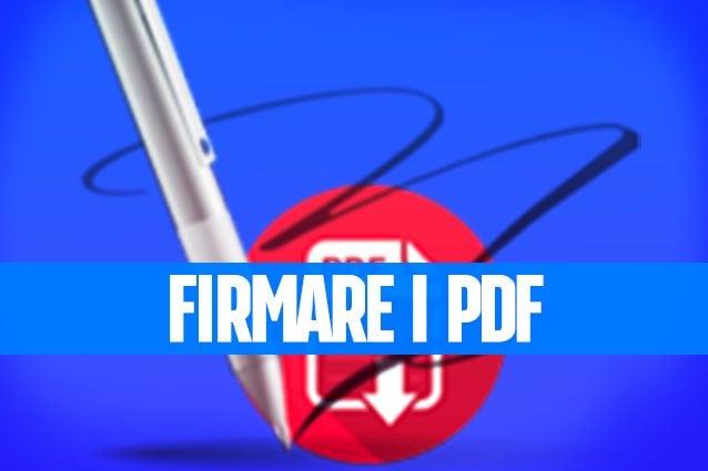 Firmare i PDF con il Mac e creare la propria firma digitale
