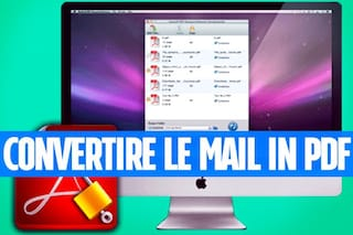 Convertire una mail in PDF con il Mac