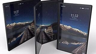 Ecco il Galaxy X, lo smartphone pieghevole con tre schermi