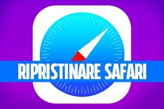 Cosa fare se Safari non funziona o ha un virus