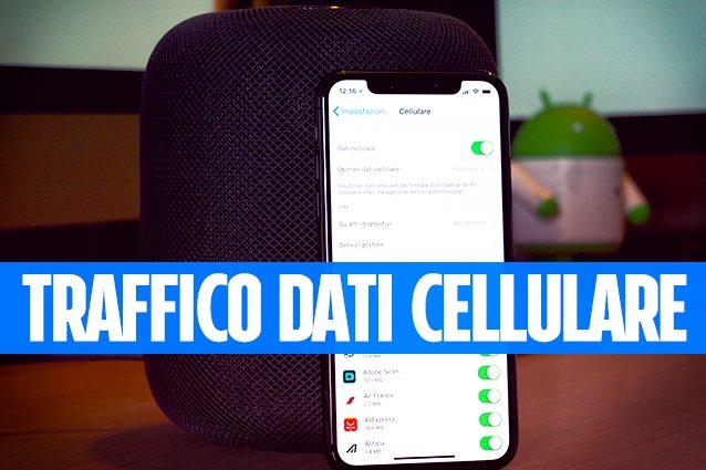 iphone come controllare il traffico dati