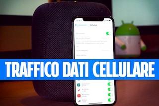 Come controllare e ridurre il traffico dati cellulare con iPhone e iPad