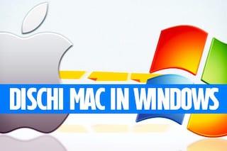 Come leggere hard disk Mac in Windows