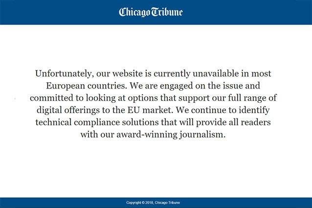 chicago tribune offline gdpr