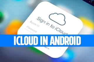 Aggiungere un'email di iCloud in un dispositivo Android