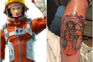 Tutti pazzi per Fortnite: 19enne si tatua il suo personaggio preferito