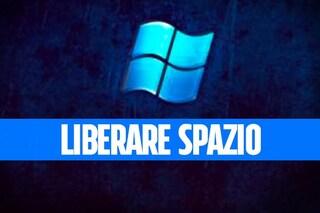 Liberare spazio sul computer dopo l'aggiornamento di Windows 10