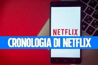 Come vedere (e cancellare) la cronologia di visualizzazione e di valutazione su Netflix