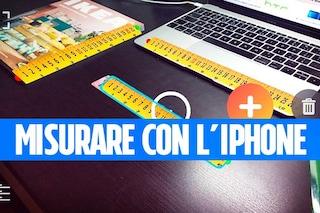 Come misurare gli oggetti con l'iPhone, senza l'aggiornamento ad iOS 12