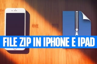 Come usare file Zip su iPhone e iPad con iOS