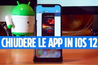 iOS 12 migliora la chiusura delle app: come cambierà nel nuovo aggiornamento di iPhone