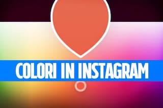 Trucchi Instagram: utilizzare la tavolozza dei colori e scrivere un testo arcobaleno