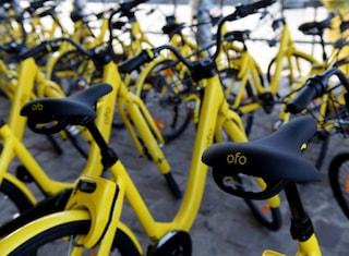 Ofo abbandona gli Stati Uniti: le biciclette gialle resteranno solo in poche città