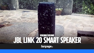 Recensione JBL Link 20: speaker bluetooth con l'Assistente Google e resistente all'acqua