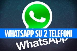 Come utilizzare WhatsApp su due telefoni contemporaneamente